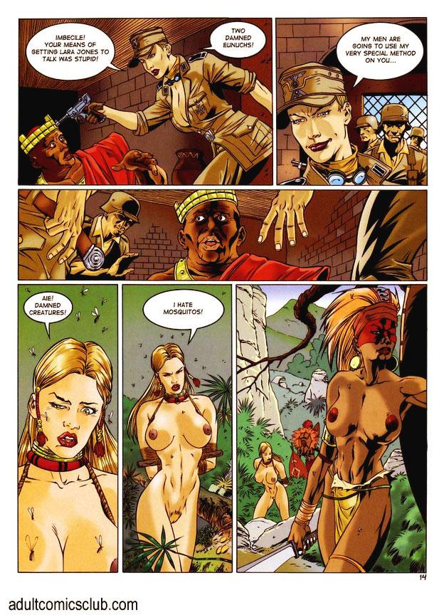 Thank Lara jones comics sex